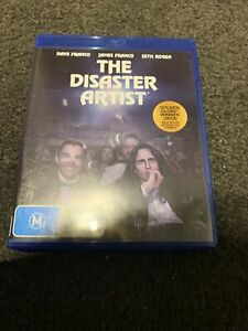 THE DISASTER ARTIST BLU-RAY DVD, 2018 RELEASE,UNUSED FREE POST