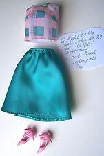 1x ein original Barbie Mattel tall Nr. 29 Fashionistas Mode Zubehör a. Konvult