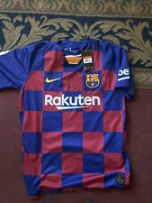 NIKE LIONEL MESSI FC BARCELONA HOME JERSEY MEN'S LARGE NEW