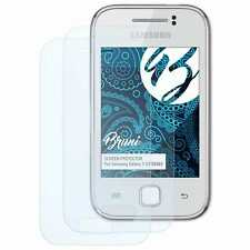 Bruni 2x Protective Film for Samsung Galaxy Y GT-S5363 Screen Protector