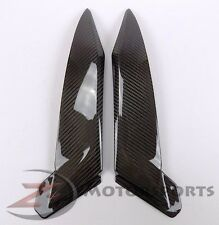2002 2003 Yamaha R1 Gas Tank Side Trim Panel Cowling Fairing 100% Carbon Fiber