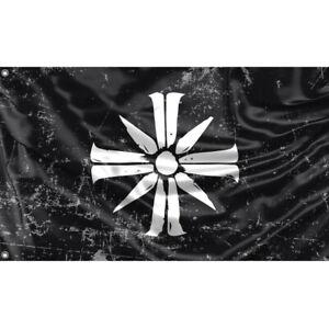 Far Cry Flag, Eden's Gate Unique Design, 3x5 Ft / 90x150 cm size, EU Made