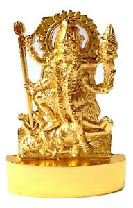 Kaali Murti Kaali Statue Symbol Of Fearful Goddess Golden Color 6.5 cm Height