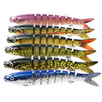 Multi Jointed Fishing Bait Swimbait Lure Saltwater and Freshwater Tackle Sinking