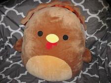 "16/"" Terry the Gobbling Turkey Squishmallow Halloween Thanksgiving Plush"