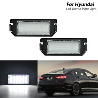2x 18-SMD Led Number License Plate Lights For Hyundai Genesis Veloster KIA Soul