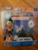 Rusty Rivets Jet Pack Building Set with Rusty Figure New
