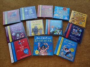 Various David Walliams Audio Cd Children's Books