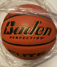 Brand New Baden Perfection Elite Official Wide Channel Basketball, 29.5-Inc Pro