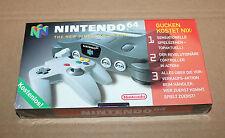Nintendo 64 n64 Promo VHS video casete nuevo/en el embalaje original