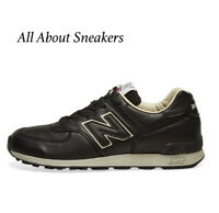 NEW BALANCE 576 - MADE IN ENGLAND Black  Men's Trainers All Sizes Limited Stock
