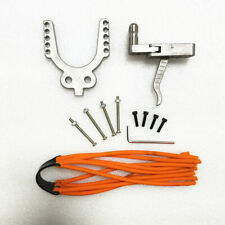 Slingshot rifle Projector Accessories trigger 10 hole lady holder DIY Stainless