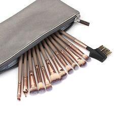 12Pcs/Set Morphe Eye Brush Cosmetics Eyeliner Eyeshadow Brushes Black Rose Gold