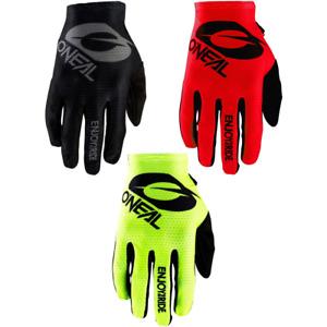 O'Neal Matrix Stacked Gloves 2020 MTB Mountain Bike Full Finger Protection New