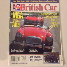British Car Magazine MGA Versus Alfa Cylinder Healey November 1998 052117nonrh