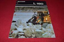 Michigan L160 Wheel Loader Dealer's Brochure YABE15