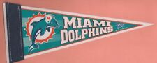 NFL : Miami Dolphins Mini Pennant - New - Retired Logo - Rare