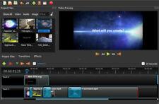 Professional 4K Video Editor Effects OpenShot 2020 |Windows 32/64 Mac| Lifetime