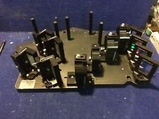 """CVI Melles Griot Optic Table w/ 12 optics 15"""" X 13 057210"""