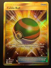 Carte Pokemon FAIBLO BALL 158/149 Secrète Soleil et Lune 1 Française NEUF