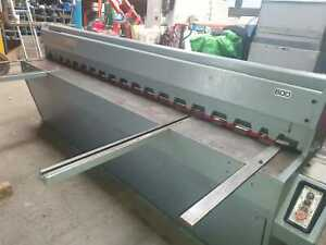 Used Edwards DD Guillotine  3.25mm x 2500mm  £ 4,250  + Vat  £5,100.00