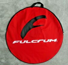 1 x FULCRUM ZIPPED WHEEL COVER STORAGE CARRY BAG ~ COLOUR: RED ~ NEW