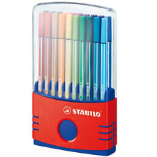Stabilo Pen 68 Fibre Tip Pen - Assorted Colours (Colourparade of 20)