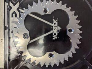 HONDA 2004-2014 TRX450R TRX-450R VORTEX 520 REAR ALUMINUM SPROCKET 34-46 SILVER
