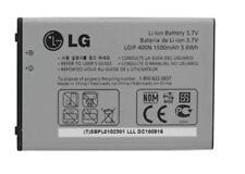 LG LGIP-400N Battery Optimus M/C/U/V/T/S/1 VM670 LS670 MS690 P500 P509 1500mAh