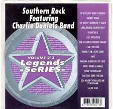 Sunfly Legends Karaoke Volume 213 CDG Southern Rock Feat. Charlie Daniels Band