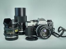 Olympus OM 10 + 50mm 1,8 + zoom 75-150mm + 28mm 2,8