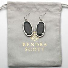 New Kendra Scott ELLE Gold Drop Earrings in black