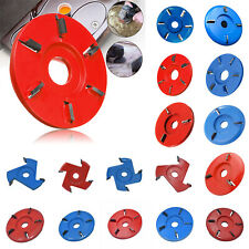3/4/5/6 Tooth Wood Cutting Disc Carving Milling Cutter Angle Grinder Accessories
