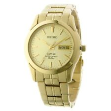 Seiko Sapphire Gents Gold Plated Watch - SGGA62P1 NEW