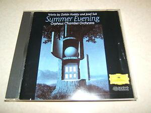 KODALY / SUK : SUMMER EVENING HUNGARIAN RONDO ETC.. CD ALBUM DEUTSCHE