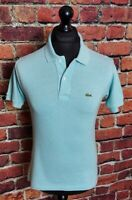 Lacoste Blue Polo Shirt - Size 2 - Extra Small - XS