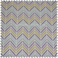 3.9 METRI DI One Off motivo geometrico bianco multi colore tessuto rivestimento