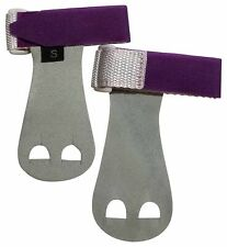 Push Athletic Gymnastics Youth Hand Grips (Purple, X-Large)
