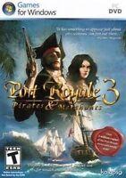 PORT ROYALE 3 Pirates & Merchants  Win 7 Vista XP   Brand New   PC Strategy