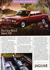 1988 Jaguar XJ6 - species - Classic Car Advertisement Print Ad J86