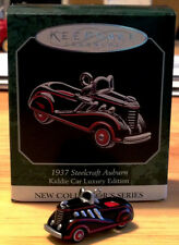Steelcraft Auburn Luxury Edition Ornament with Box, Kiddie Car Miniature K1937