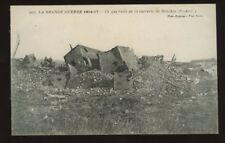 France SOUCHEZ WW1 bombed Sugar Refinery PPC