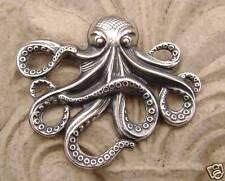1807 antichizzato sterling .925 placcato argento ottone Grande Ciondolo di