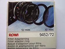 Filter-Adapter   Filteradapterring  Adapter  52-72 ROWI