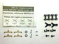 HISPATREN 980001-01 Kit de mejora para coches 9000 Nueva Imagen Renfe Escala N