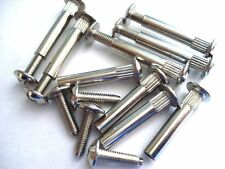 CONNECTING SCREWS BOLTS M4 KITCHEN CABINET FURNITURE CARCASE CONNECTORS X 20