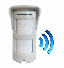 Sensore Volumetrico a doppio PIR Wireless da esterno