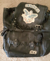 Vintage Leather Avirex Backpack
