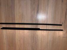 porsche 911 930 upper door moldings trims BLACK 74-89 COUPE RARE