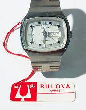 Genuine Vintage Bulova 17 Jewels Swiss Made Automatic Analog Swiss Watch t-swiss
